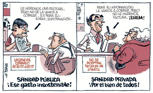Sanidad Canaria - Quince médicos fueron sancionados por compaginar sanidad  pública y privada desde el 2017